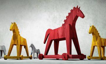 マルウェア対策「トロイの木馬」