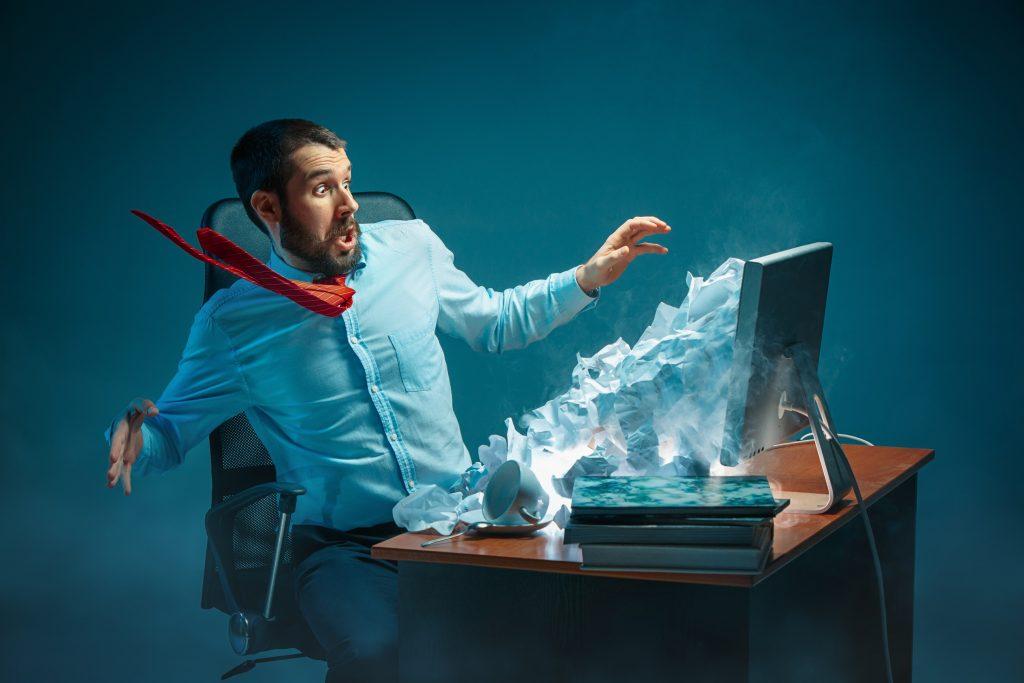 コンピューターウイルスに感染したときに表れる主な症状
